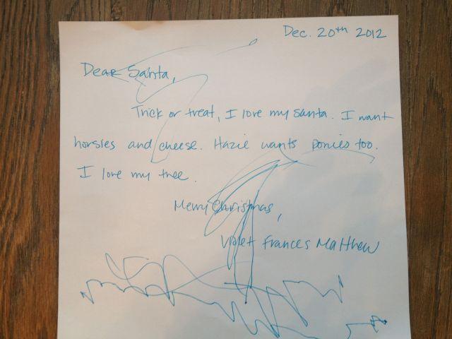 Vi's Letter