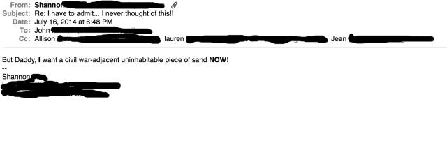 Princess Email 2